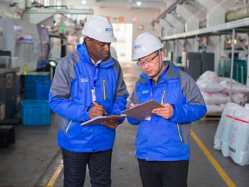 Verificación de Proveedores y Auditoría de Manufactura